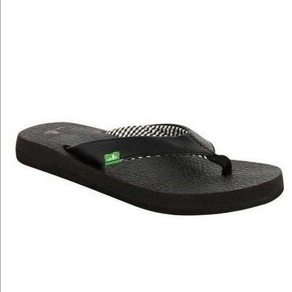 d59570c906ea3 Sanuk yoga mat flip flop sandal size 7 new